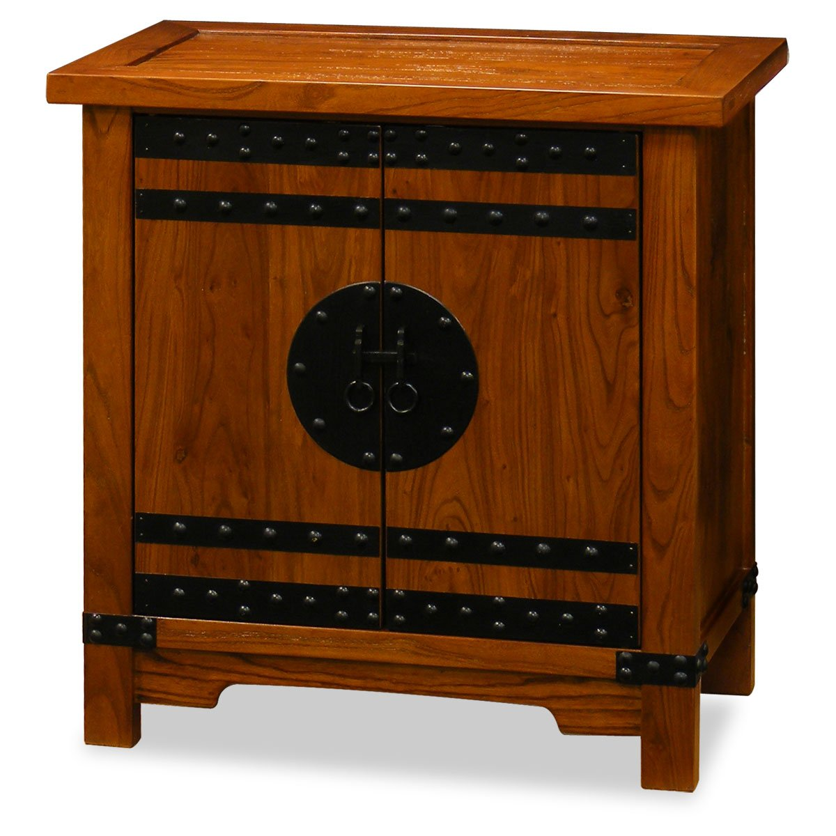 China Furniture Online Elmwood Cabinet, Northern Chinese Style Cabinet Natural Finish 0