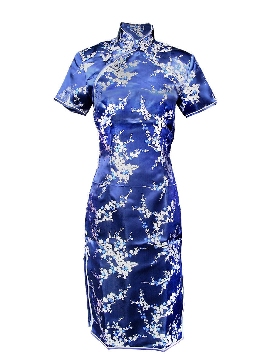 Blue Chinese Dress Cocktail Dresses 2016