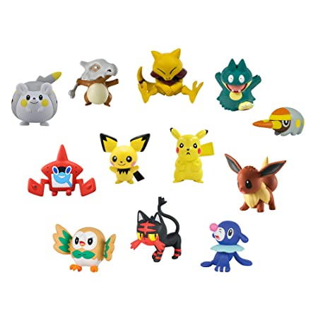 Tomy - Pokémon - Figurines Multi Pack Xl