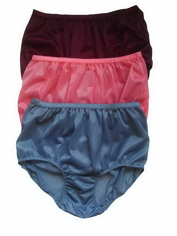 Höschen Unterwäsche Großhandel Los 3 pcs LPK16 Lots 3 pcs Wholesale Panties Nylon günstig bestellen