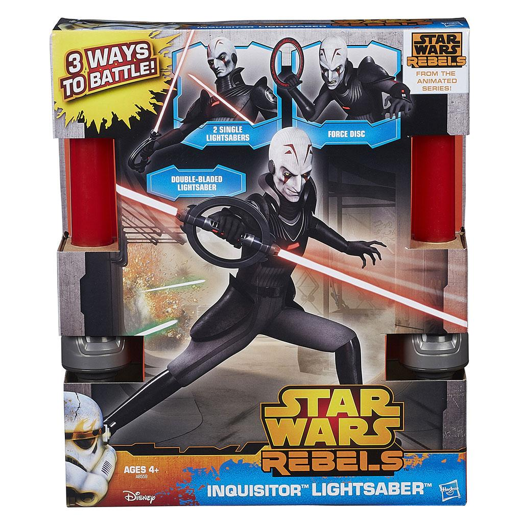 Star Wars Rebels Inquisitor Lightsaber Toy Double Bladed