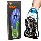 Sof Sole Airr Gel Shoe Inserts Arch Support Shock Absorbing Breathable Walking Running Shoe Insoles (Tamaño: Large (women's 11-12/men's 10-11))