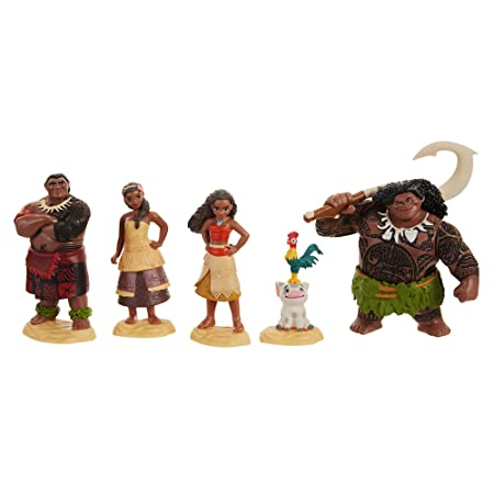 Taldec 45536 Disney Set De Figurines De Collection Vaiana