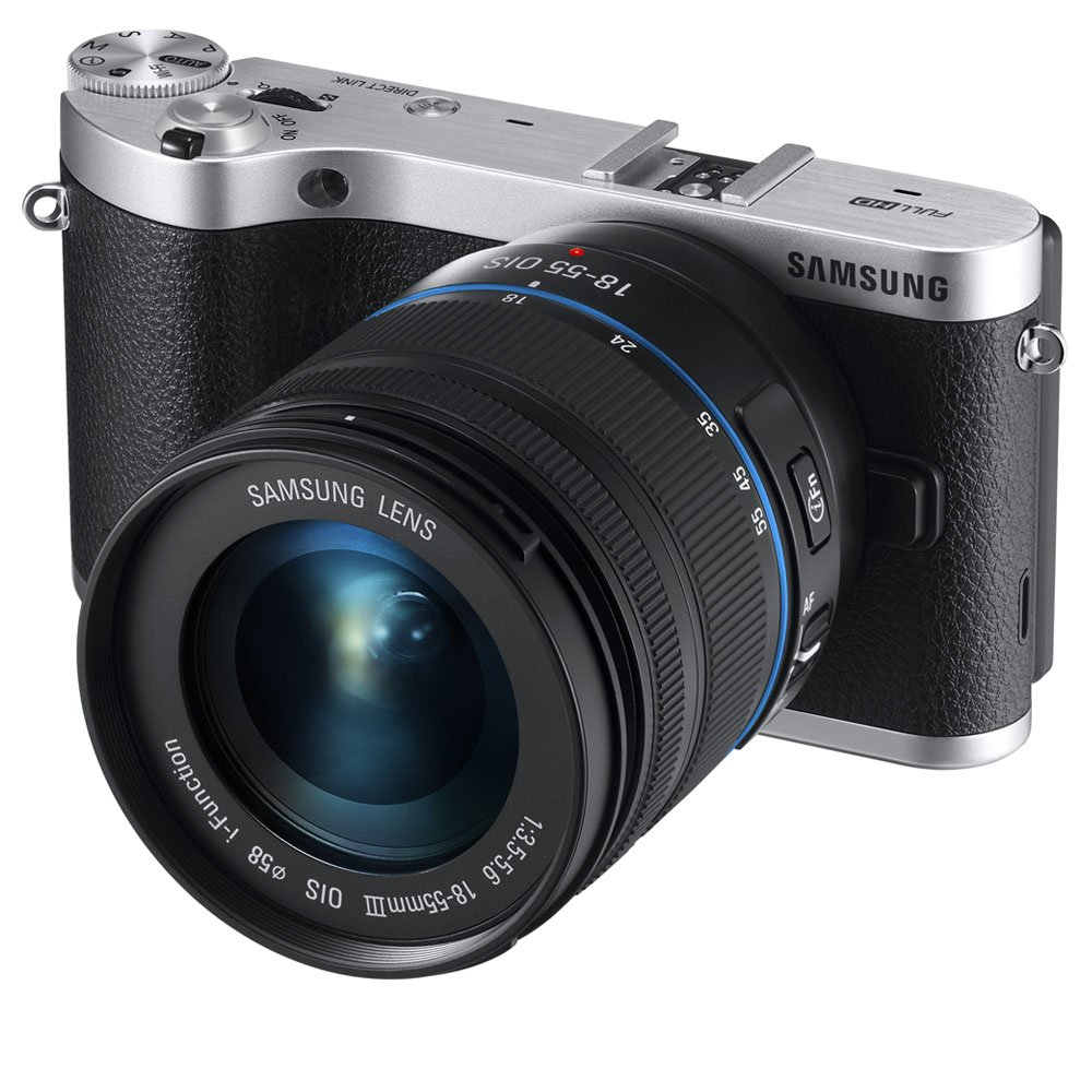 Samsung NX300 20.3MP CMOS Smart WiFi Compact Interchangeable Lens Digital Camera