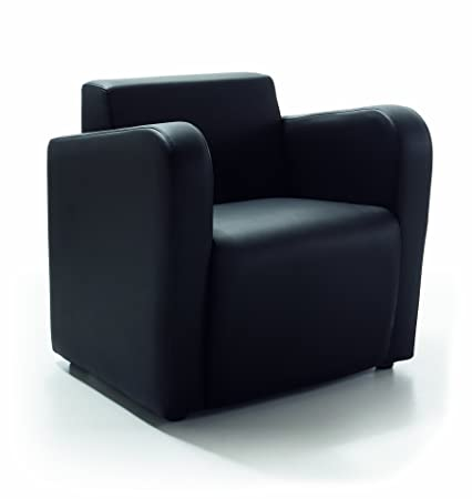 Sillon butaca fija , color negro