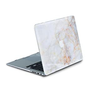 Durable Laptop Case Art Designed Protective Cover for MacBook Laptop Modern Hard Case (Air 11 (A1370 & 1465), Pale Marble) (Color: Pale Marble, Tamaño: Air 11 (A1370 & 1465))