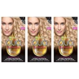 GarnierHairColorOliaOil Powered PermanentHairColor, 9 1/2.1 Lightest,3 count (Packaging May Vary) (Color: 9 1/2.1 Lightest Ash Blonde, Tamaño: 3 Count)