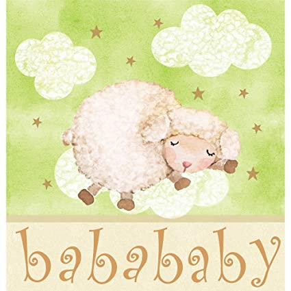 Sweet baby lamb baby shower theme
