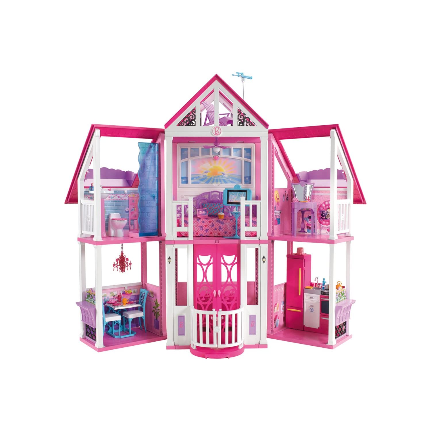 Barbie la casa di malibu for La casa di malibu