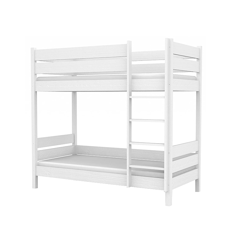 Kinderbett Etagenbett für Kinder Kinderzimmer BUMBLEE BEE 107x208x180cm Holz weiß L2 90/200 günstig