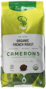 Cameron's Organic Whole Bean – French Roast
