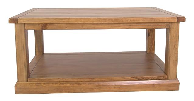 CBC armadi, tavolino da caffè in legno, finiture in cera
