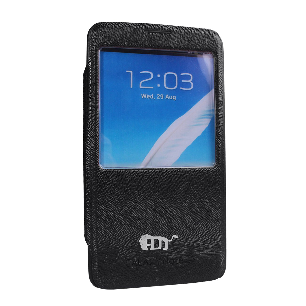 Pdncase Samsung Note 3 Cover Flip Case - Black