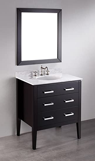 Bosconi SB-260 31 in. Single Bathroom Vanity Set
