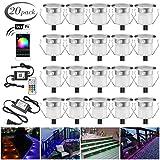LED Deck Light Kits, FVTLED 20pcs F1.18