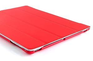 JAMMYLIZARD   Funda G10 Dura Ultra Fina Color ROJO Smart Case Para Para iPad 4 (con Retina Display), iPad 3 y iPad 2 con Tapa Función Despertar / Dormir  Electrónica más información y comentarios