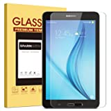 SPARIN Samsung Galaxy Tab E 8.0 Screen Protector, [.3mm] [Tempered Glass] [Bubble-Free] Screen Protector for Samsung Galaxy Tab E 8.0 Inch (Color: Clear)