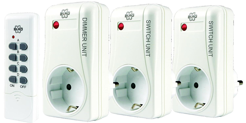 Enchufes controlados con mando a distancia