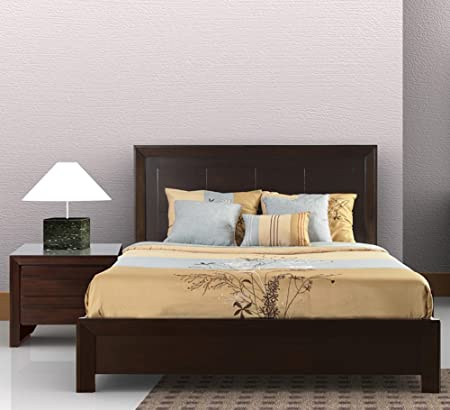 Modus Element 2 Piece Platform Bedroom Set in Chocolate Brown