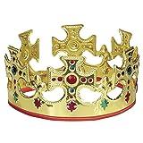 Unique Adjustable King Crown (Color: Multicolor)