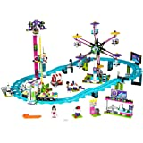 LEGO Friends Amusement Park Roller Coaster 41130 Toy for Girls and Boys (Color: Multi-colored, Tamaño: 1124 Piece)