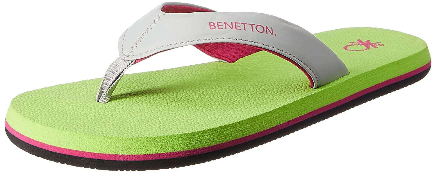 United Colors of Benetton Womens Flip-Flops and House Slippers
