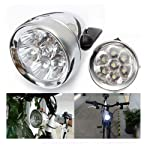 Zimo®Vintage Retro Bicycle Bike Front Light Lamp 7 LED Fixie Headlight with Bracket