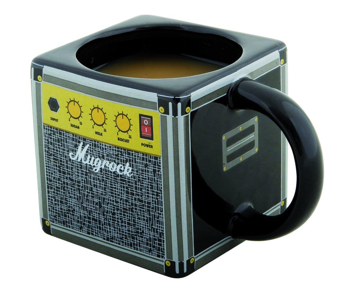 Spinning Hat 11628 - Taza, diseño Ampli Mugrock, 330 ml, color negro   Comentarios de clientes y más información