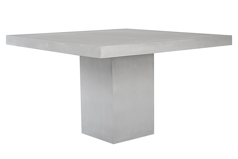 Cube Tisch 120x120 cm aus Fiberstone in moderner Betonoptik ...