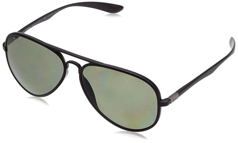 Ray Ban Sunglasses Aviator Black Frame Deep Green www ...