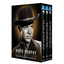 Audie Murphy Collection [The Duel at Silver Creek/Ride a Crooked Trail/No Name on the Bullet] [Blu-ray]