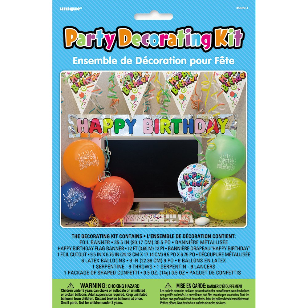 Happy Birthday Office Decorations Office Birthday Decoration Kit