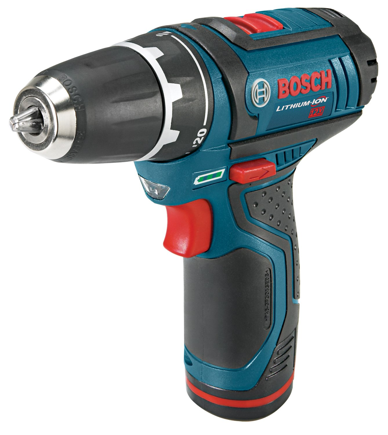 Bosch PS31-2A 12-Volt Max Lithium-Ion 3/8-Inch 2-Speed Drill/Driver Kit with 2 Batteries, Charger and Case $99.00