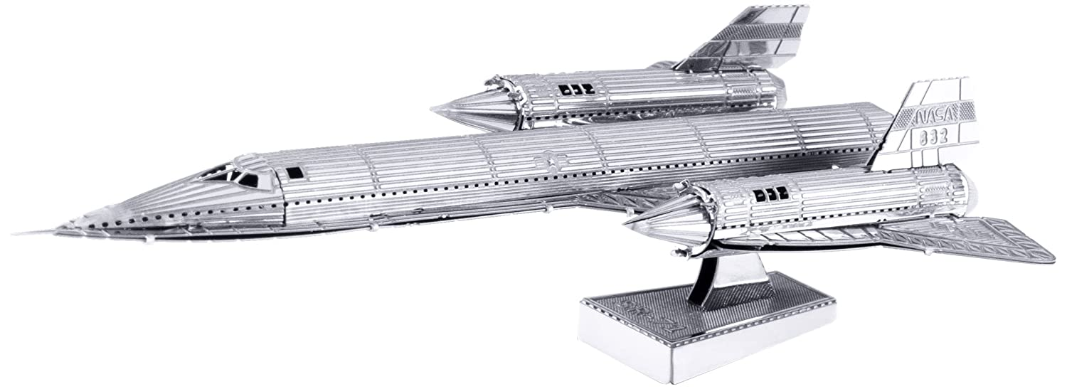 Buy Metal Earth 3D Metal Model - SR71 Blackbird Plane on Amazon.com