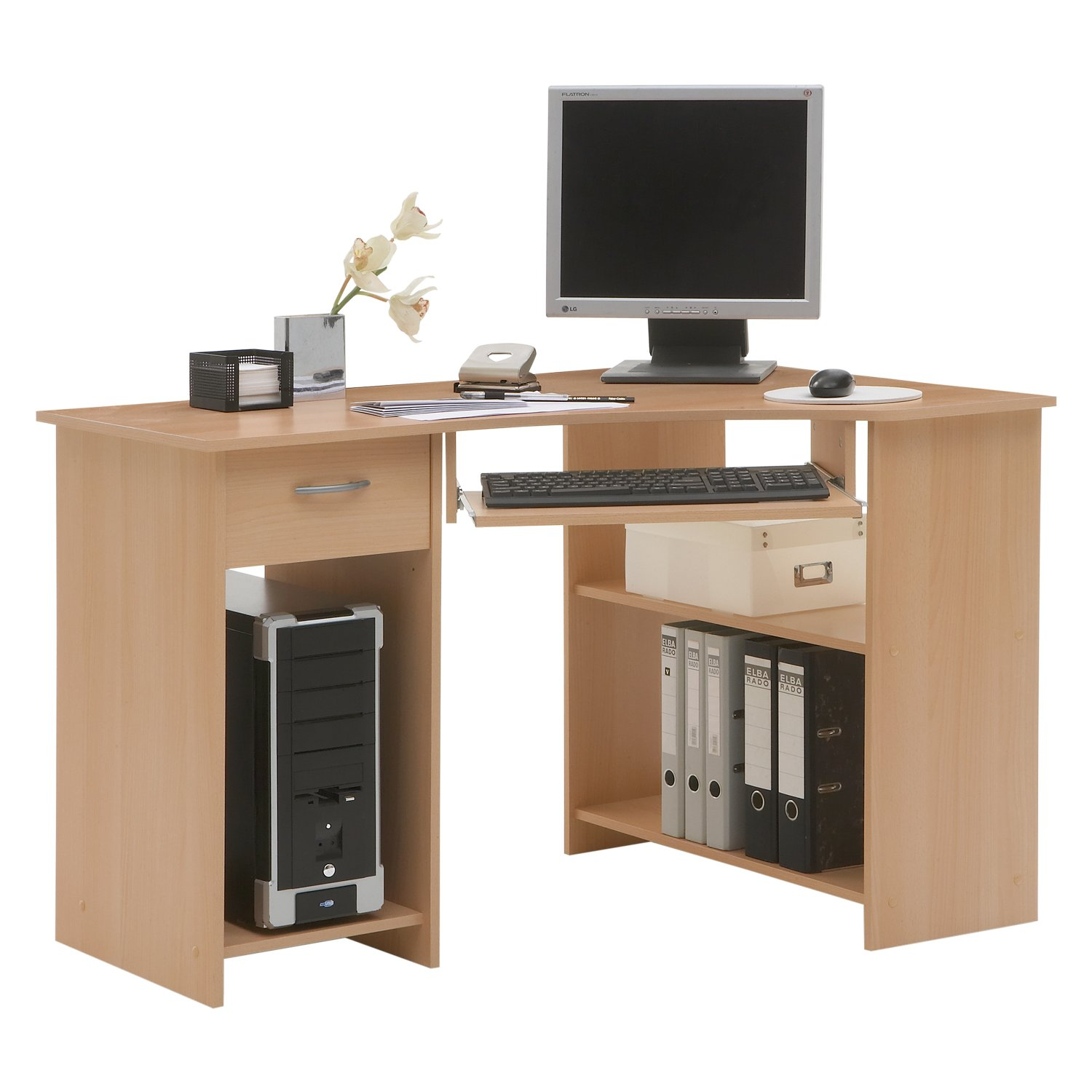 petit bureau angle. Black Bedroom Furniture Sets. Home Design Ideas