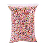 Big Pack 2300ml of Styrofoam Foam Balls Polystyrene Beads 3-4mm Mixed Or White for Floam Slime Floral Decoration DIY Craft (Approx 80000 Foam Balls) (Mixed Color) (Color: Mixed Color, Tamaño: 3-4mm)