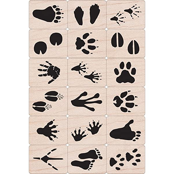 Hero Arts Ink and Stamp Set, Animal Prints