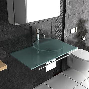 waschtisch milchglas glas badm bel alpenberger milchglaswaschbecken serie 120. Black Bedroom Furniture Sets. Home Design Ideas