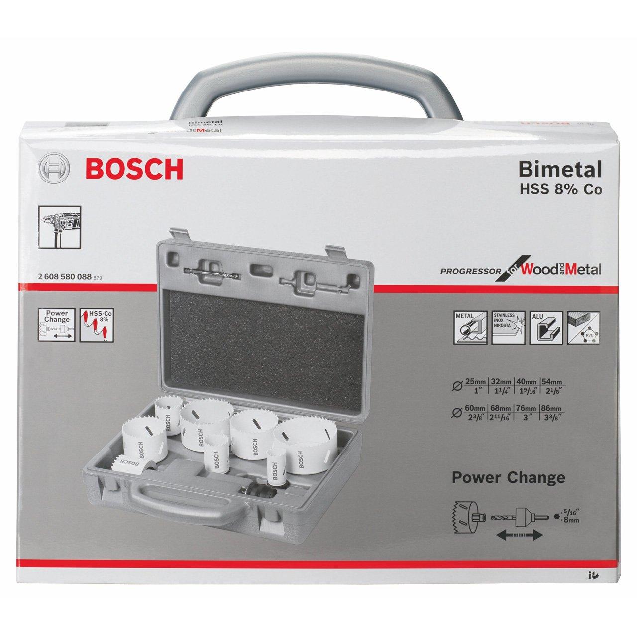 Bosch 2608580088 Lochsäge HSSBiMElektrikerLochsägenset 8t  BaumarktBewertungen