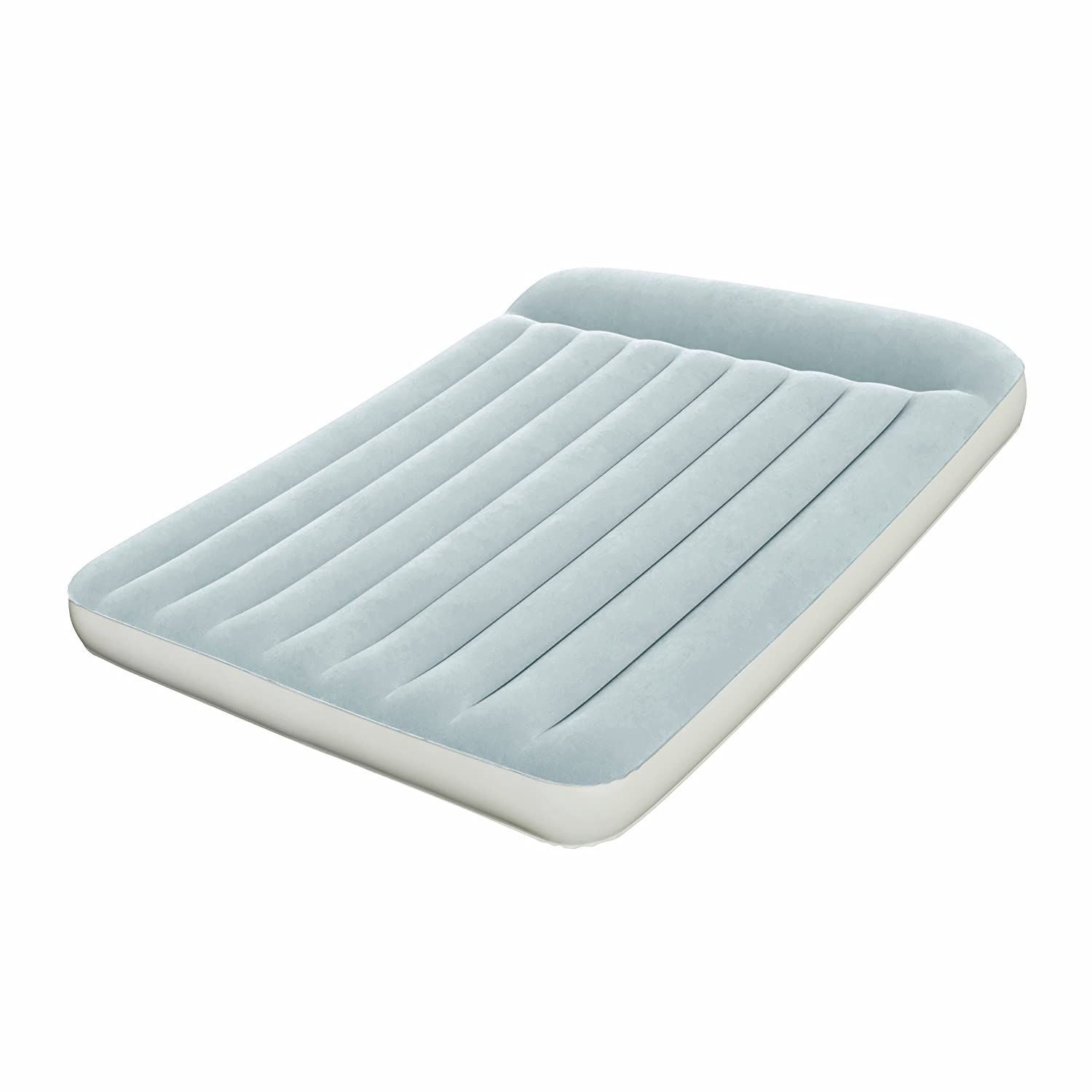 NEW BESTWAY QUEEN DOUBLE INFLATABLE FLOCKED AIR BED BLOW
