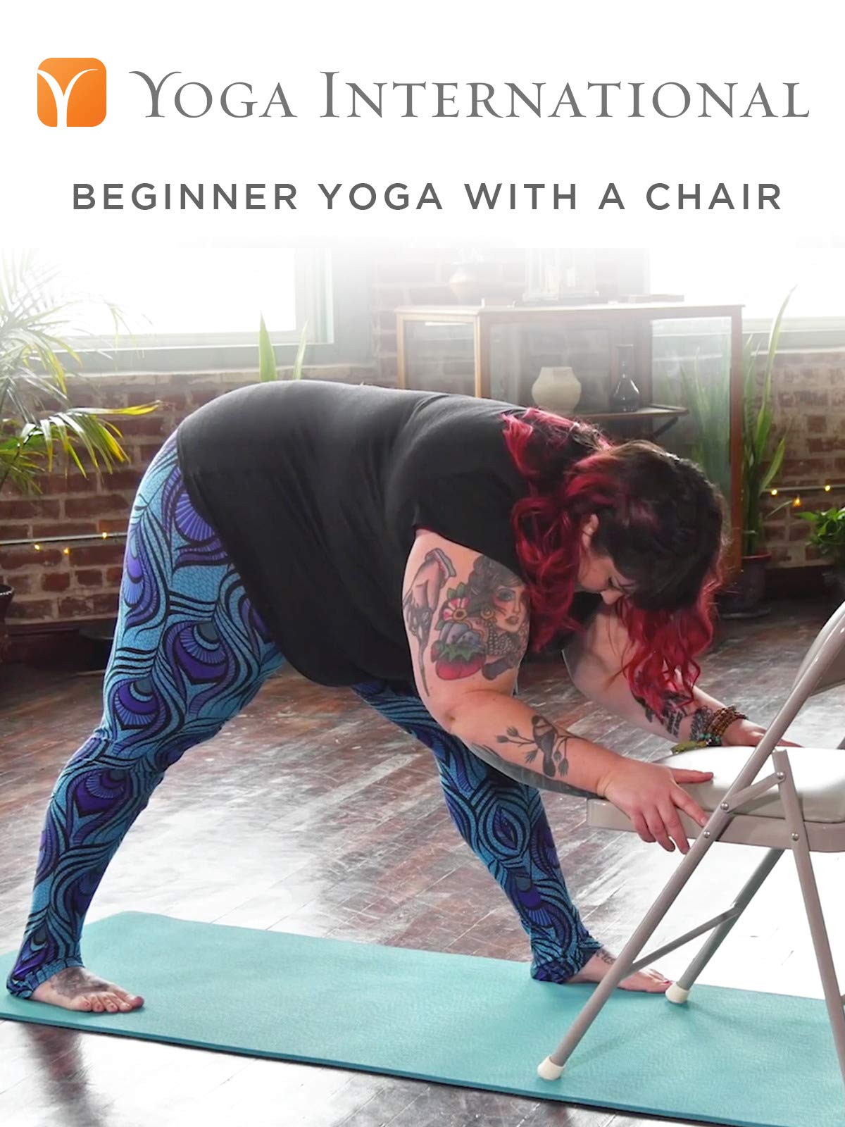 Beginner Yoga with a Chair