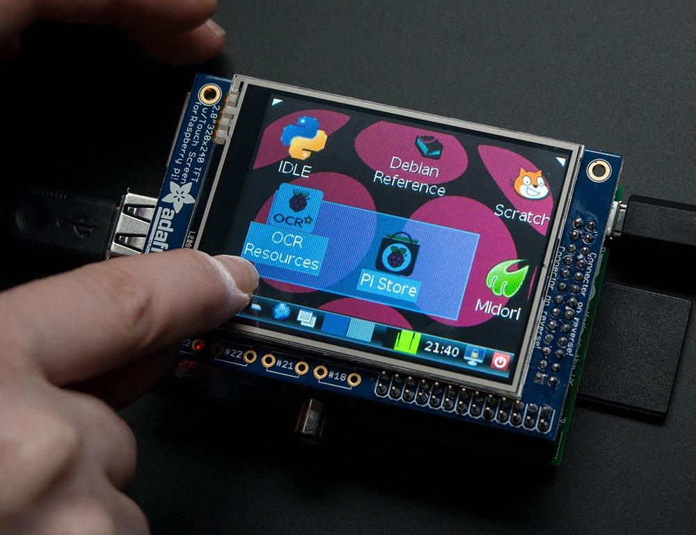 Petit écran tactile Raspberry Pi