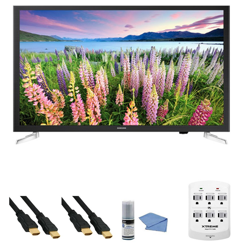 Samsung UN32J5205 - 32-Inch Full HD 1080p Smart LED HDTV + Hookup Kit