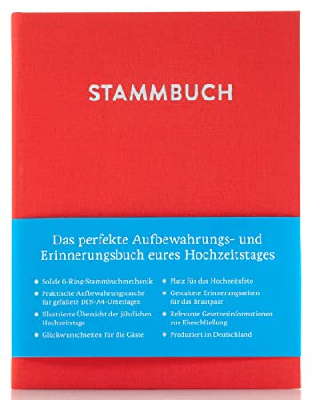 Stammbuch Happy A4 taupe Individuell Familienstammbuch Stammbuch der Familie