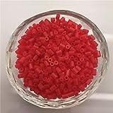 FidgetFidget New 500/1000 PCS 2.6MM PP HAMA/PERLER Beads for Great Kids Great Fun 50 Colors NO.07 500pcs (Color: No.07, Tamaño: 500pcs)