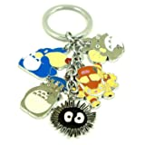 Japanese Animation Totoro Keychain Clearance! Color: #B - Keychain, Model: , Office Shop
