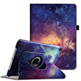 Fintie iPad Pro 9.7 Case - 360 Degree Rotating Case with Smart Stand Cover Auto Sleep/Wake Feature for Apple iPad Pro 9.7 inch (2016 Version) (ZA-Galaxy) (Color: ZA-Galaxy, Tamaño: 9.7 Inch)
