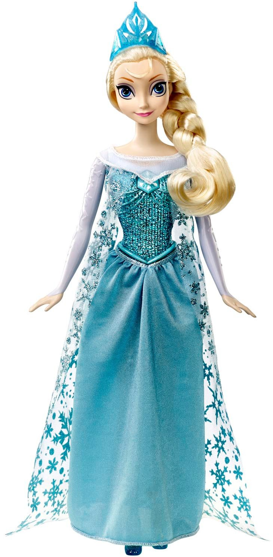 Mattel - Frozen. Elsa singt mit mir - Singt in Französisch, Spanisch, Portugiesisch und Italienisch