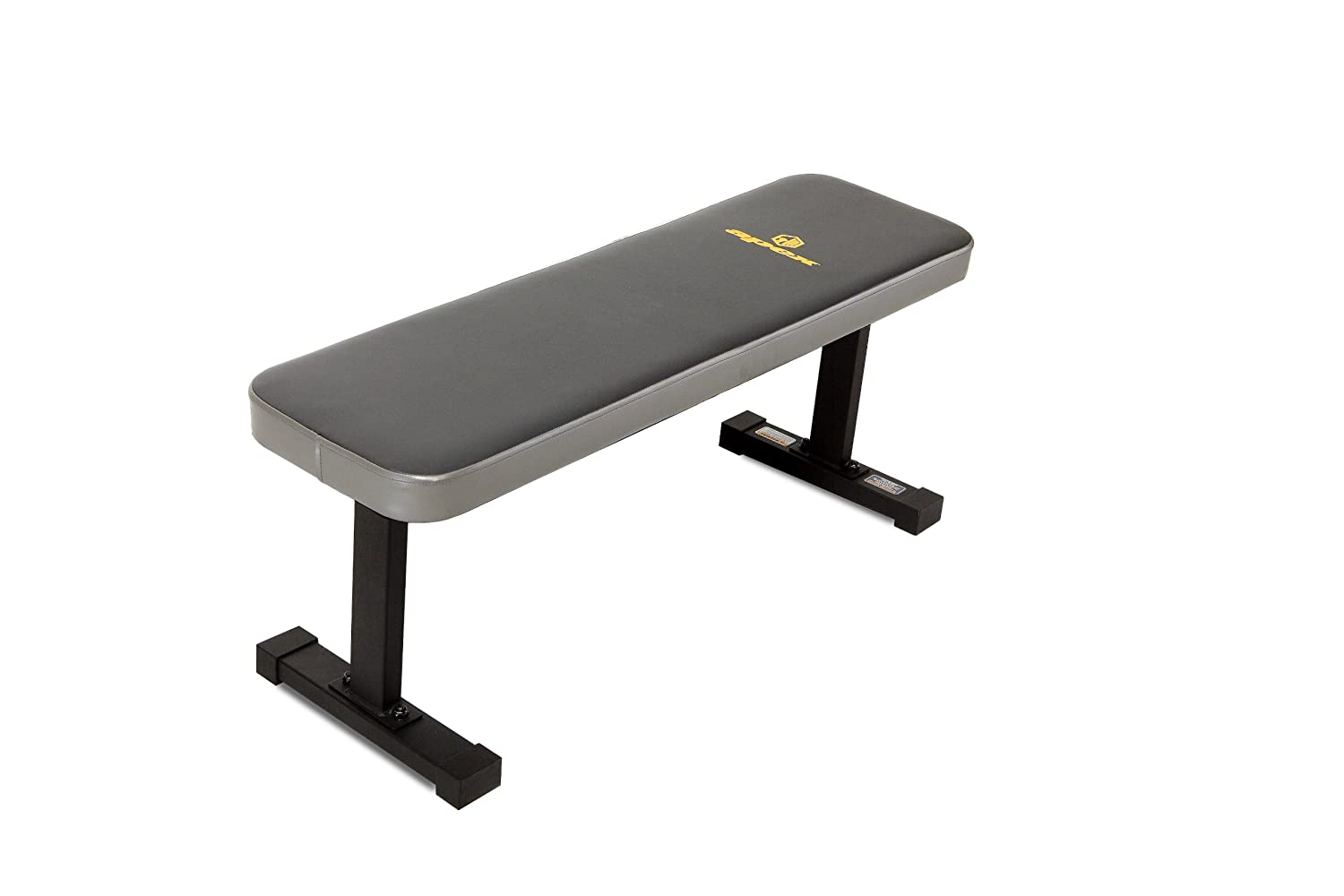 New Heavy Duty Sturdy Flat Bench Free Weights Back Ab Workout Weight Exercise Ebay