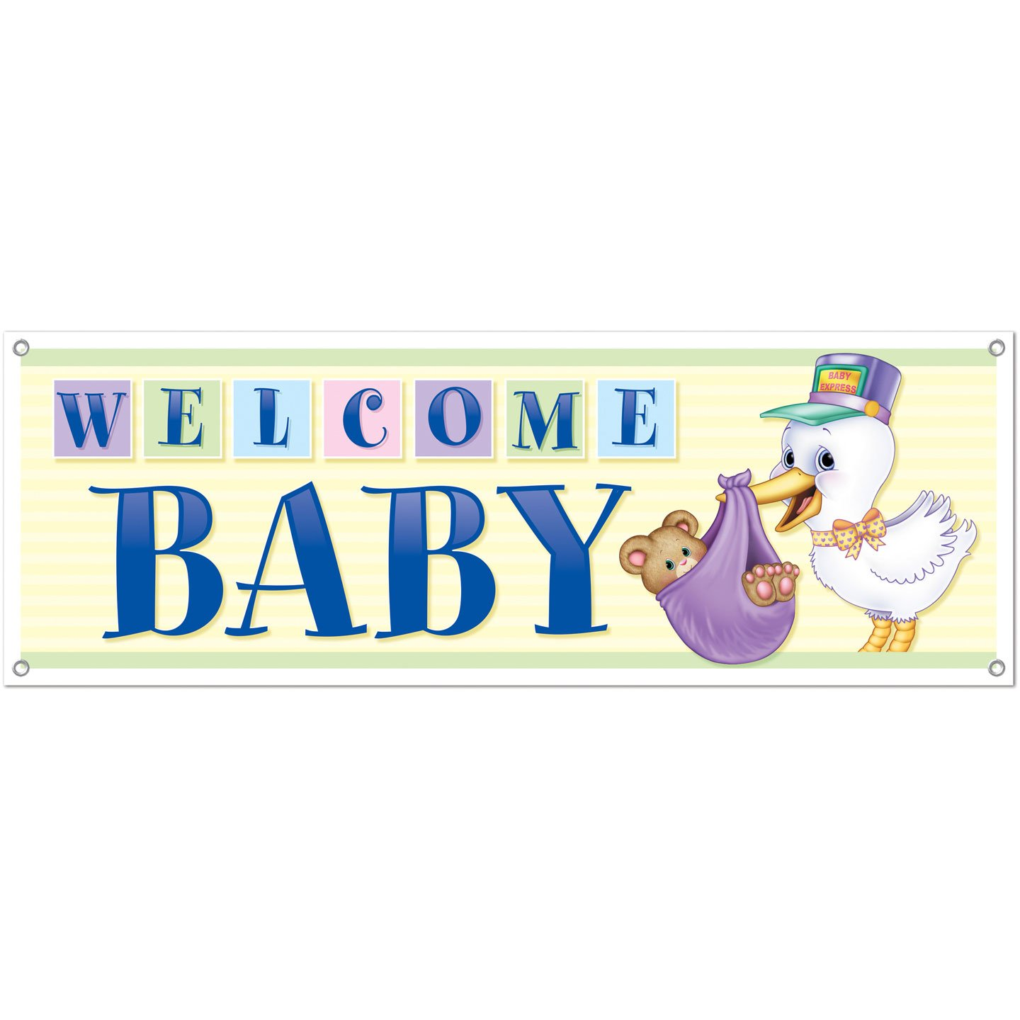 Boy baby shower banners baby shower mania Baby shower banners